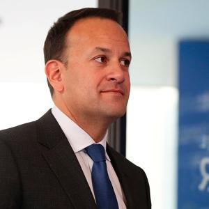 No change: 'We have yet to see an alternative text from the United Kingdom government,' says Leo Varadkar. Photo: REUTERS/Lisi Niesner
