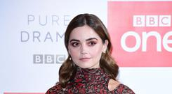 Jenna Coleman at the Soho Hotel, London, to promote new BBC One drama The Cry (Ian West/PA)