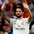 Real Madrid's Isco celebrates. Photo: Juan Medina/Reuters