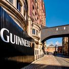 The Guinness Storehouse at St James's Gate in Dublin