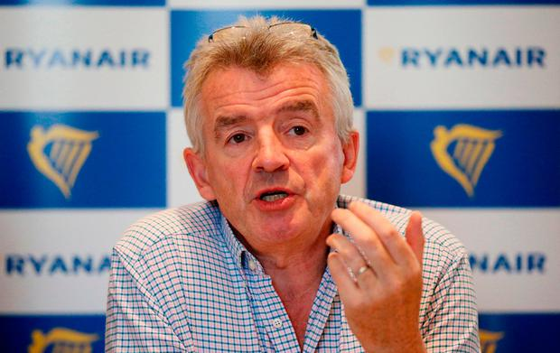 Michael O'Leary has been re-elected as CEO of Ryanair. Photo: PA