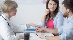 Almost one in five couples are now affected by infertility. Stock image