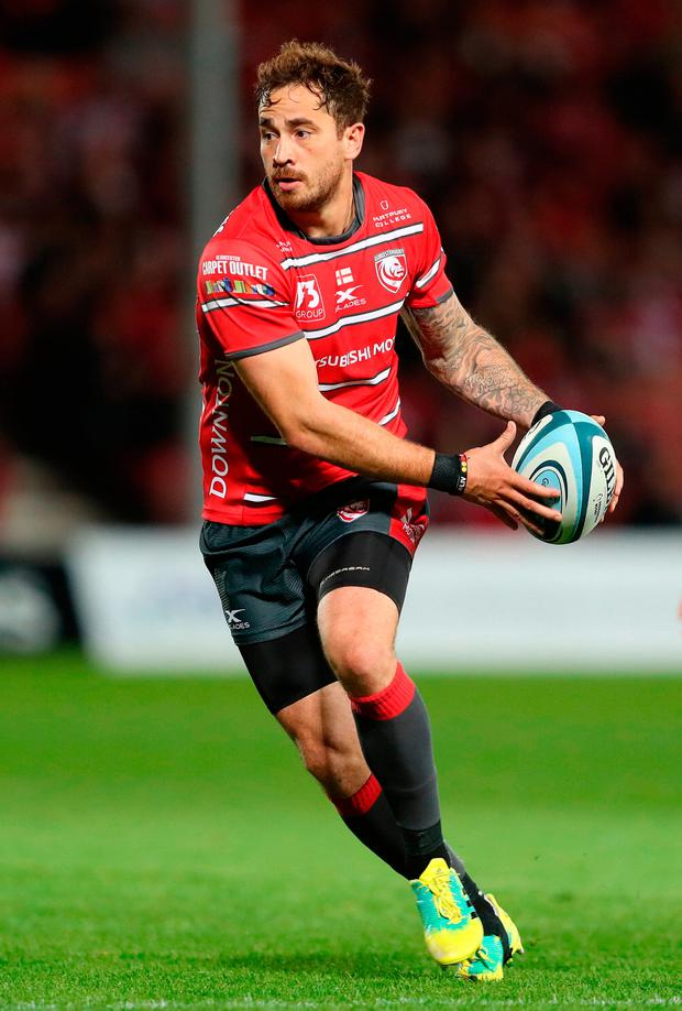 File photo dated 14-09-2018 of Gloucester's Danny Cipriani, who has been omitted from Englands training squad which convenes next week, the Rugby Football Union has announced. Manu Tuilagi and Chris Ashton have been named in the squad. David Davies/PA Wire.