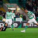Leigh Griffiths stooped to hand Celtic a valuable Europa League win