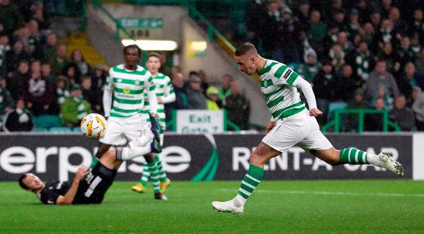 Leigh Griffiths is the Celtic hero as they start their Europa League campaign with a dramatic win