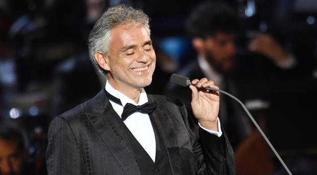 Time to say happy birthday, Mr Bocelli...