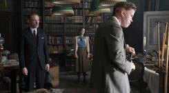 Domhnall Gleeson, Ruth Wilson and Will Poulter star in The Little Stranger