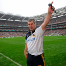 5 September 2010; Tipperary manager Liam Sheedy near the end of the game. GAA Hurling All-Ireland Senior Championship Final, Kilkenny v Tipperary, Croke Park, Dublin. Picture credit: Paul Mohan / SPORTSFILE