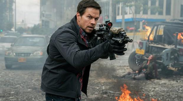 Mark Walhberg in Mile 22