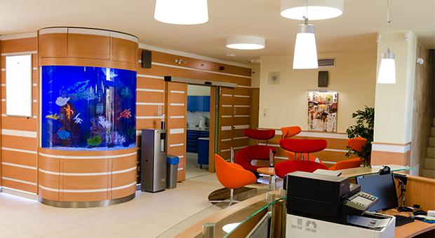 A relaxing and calm atmosphere at Keativ Dental Clinic