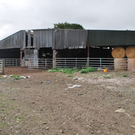 A huge shed dominates the main yard.