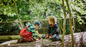 Park Academy Nature Kindergarten. Photo: Madga Kacperska