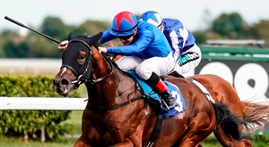 Kessaar, pictured here winning the Sirenia Stakes at Kempton under Kieran ONeill earlier this month, will be partnered by Kieron Fallon in Mill Reef Stakes today. Photo: Alan Crowhurst/Getty Images