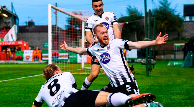 John Caulfield sent to stands as Dundalk take massive step towards title with win in Cork