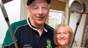 Tom O'Riordan and wife Irene