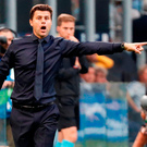 Mauricio Pochettino and Tottenham have hit a difficult patch after a fine start. Photo: Stefano Rellandini/Reuters