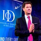 CRITICAL: Tony Smurfit, CEO of Smurfit Kappa, at the IoD autumn lunch in Dublin. Photo: Jason Clarke.
