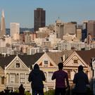 BAY CITY HIGH ROLLERS: San Francisco is a town where you need to be wealthy, with average rents of $2,500 a month for studio apartments. Photographer: David Paul Morris/Bloomberg