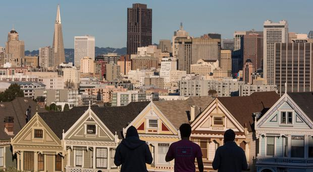 """Housing prices are famously out of control in many US cities - the average studio apartment in San Francisco is nearly $2,500 (€2,120) a month, and over $2,900 in Manhattan. This trend has inspired a movement called """"Yimby,"""" for """"Yes, in my backyard!"""""""