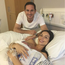 Frank and Christine Lampard with their little baby Pat. Photo: Instagram