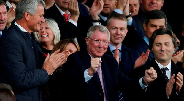 Man United legend Alex Ferguson returns to Old Trafford for the first time since emergency brain surgery