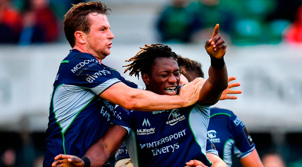 Adeolokun try seals important home win for Connacht over Scarlets