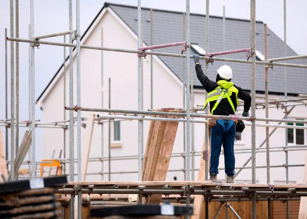The Government has been criticised for financing builders and developers to build on State lands that will be provided by the Land Development Agency (LDA). Stock Image: Bloomberg