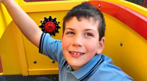 Eight-year-old Daniel Bradley died after the incident near Maghera, Co Londonderry, on Thursday night.