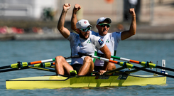 'Exacerbating the problem is that neither the sport of rowing nor the O'Donovans possess a major sponsor. Now that the run-in to Tokyo has begun, it would be great to see that change.' Photo: Sportsfile