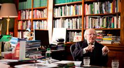 ARAS OFFICE: President Michael D Higgins. Photo: Mark Condren