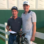 Noel Fox and Robin Dawson at the Portugal Masters