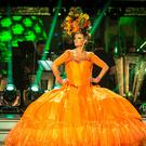 Susannah Constantine on Strictly Come Dancing (Guy Levy/BBC)