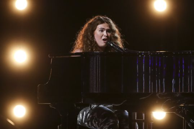 Chloe auditions for the X Factor judges. Photo: ITV
