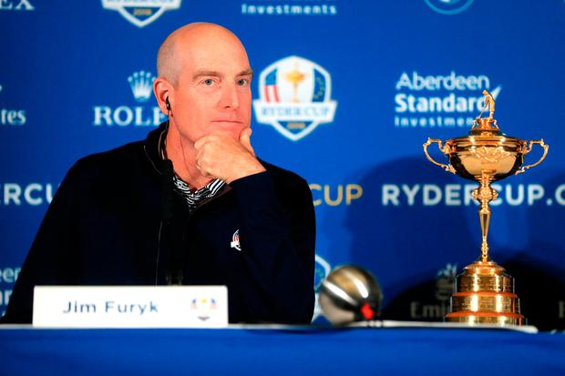 Furyk: Will be a hero or a villain. Photo: PA