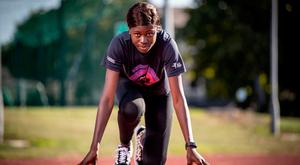 Rhasidat Adeleke, at the launch of the Dublin Sportsfest, turns her focus to the U-20 Europeans next year. Photo: INPHO/Morgan Treacy