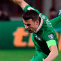 Coleman suffered a stress fracture in his foot during the September international break. Photo by David Maher/Sportsfile