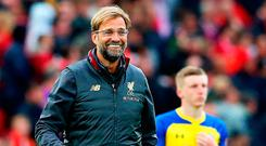 Reds remedy: Jurgen Klopp has added steel to his defence, sparing Anfield of an air of apprehension. Photo by Alex Livesey/Getty Images