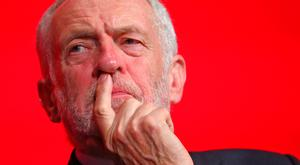 Wait and see: British Labour leader Jeremy Corbyn. Picture: Reuters