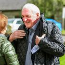 Former Taoiseach Bertie Ahern at the annual peace walk at Glencree, Co Wicklow. Photograph: Garry O'Neill