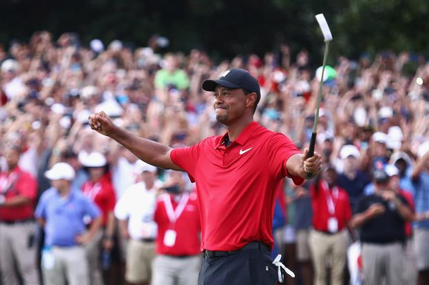 Hear Him Roar! Tiger Woods wins Tour Championship, ends 5-year drought