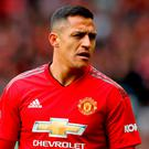 Manchester United striker Alexis Sanchez has denied betting on Jose Mourinho's sacking with his team-mates.