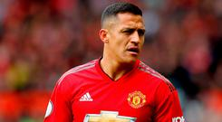8218f97bec6 Manchester United striker Alexis Sanchez has denied betting on Jose  Mourinho s sacking with his team-