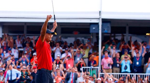 Tiger Woods can match my record after completing astonishing comeback at Tour Championship, says Jack Nicklaus