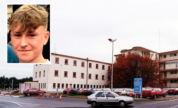 Popular Limerick student Darragh O'Connell (18) inset. A post-mortem examination was conducted at University Hospital Limerick (UHL) yesterday.