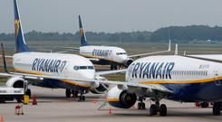 Warning: Travel by air and sea, and trade could all face disruption. Photo: REUTERS