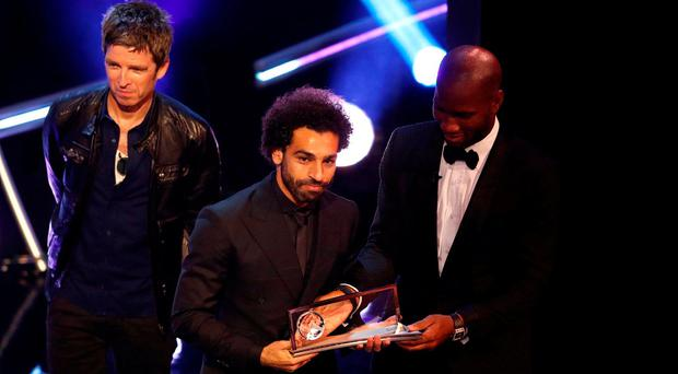 Mo Salah wins Puskas Award for Goal of the Year but misses out on place on the FIFPro World 11