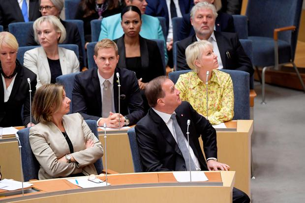 Swedish parliament ousts PM Lofven in vote of no-confidence