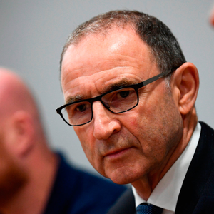 Martin O'Neill during a press conference prior to the Liam Miller Memorial match