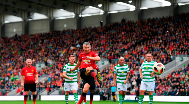 Manchester United keep composure in penalty shootout to beat Ireland/Celtic