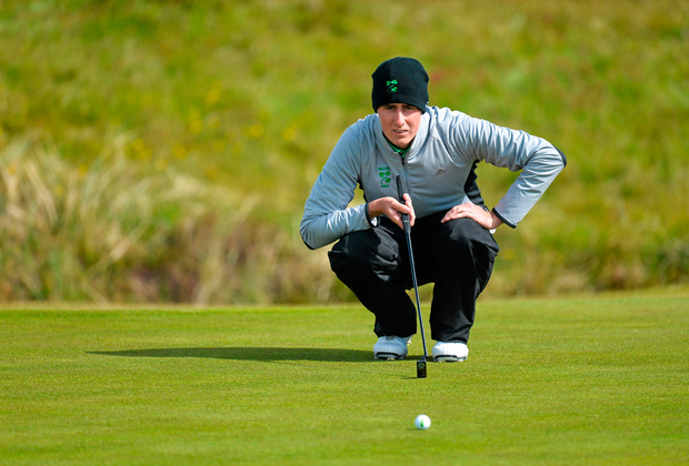 It was a difficult start for Hurley who bagged bogeys on the 16th and 18th after starting on the 10th.. Picture credit: Brendan Moran / Sportsfile
